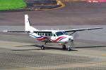 yabyanさんが、名古屋飛行場で撮影した朝日航空 208B Grand Caravanの航空フォト(飛行機 写真・画像)