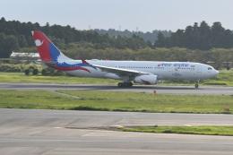 シュウさんが、成田国際空港で撮影したネパール航空 A330-243の航空フォト(飛行機 写真・画像)
