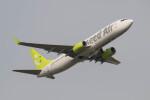 Koenig117さんが、羽田空港で撮影したソラシド エア 737-86Nの航空フォト(飛行機 写真・画像)
