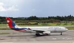 ハム太郎。さんが、成田国際空港で撮影したネパール航空 A330-243の航空フォト(飛行機 写真・画像)