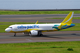 yabyanさんが、中部国際空港で撮影したセブパシフィック航空 A320-271Nの航空フォト(飛行機 写真・画像)