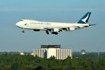 mojioさんが、成田国際空港で撮影したキャセイパシフィック航空 747-867F/SCDの航空フォト(飛行機 写真・画像)