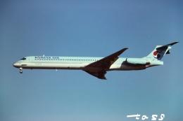 tassさんが、成田国際空港で撮影した大韓航空 MD-83 (DC-9-83)の航空フォト(飛行機 写真・画像)