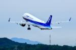 くれないさんが、高松空港で撮影した全日空 A320-271Nの航空フォト(飛行機 写真・画像)