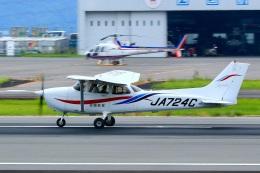 くれないさんが、高松空港で撮影した四国航空 172R Skyhawkの航空フォト(飛行機 写真・画像)