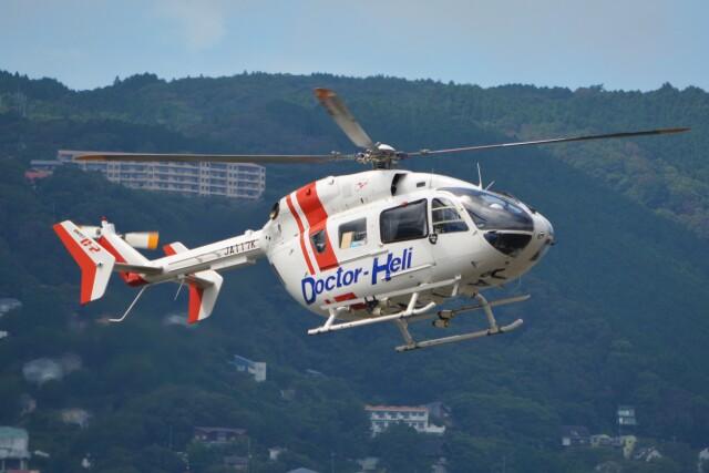 宇佐美ドクターヘリポートで撮影された宇佐美ドクターヘリポートの航空機写真