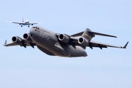 JRF spotterさんが、ダニエル・K・イノウエ国際空港で撮影したアメリカ空軍 C-17A Globemaster IIIの航空フォト(飛行機 写真・画像)
