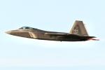 JRF spotterさんが、ダニエル・K・イノウエ国際空港で撮影したアメリカ空軍 F-22A-20-LM Raptorの航空フォト(飛行機 写真・画像)
