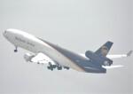 takikoki50000さんが、関西国際空港で撮影したUPS航空 MD-11Fの航空フォト(飛行機 写真・画像)