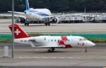 ハム太郎。さんが、羽田空港で撮影したSwiss Air-Ambulance rega Challenger 600の航空フォト(飛行機 写真・画像)