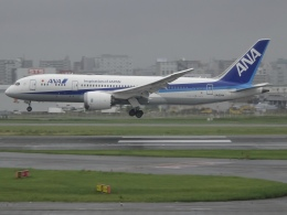 Blue605Aさんが、福岡空港で撮影した全日空 787-8 Dreamlinerの航空フォト(飛行機 写真・画像)