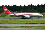 シュウさんが、成田国際空港で撮影した四川航空 A330-243Fの航空フォト(飛行機 写真・画像)