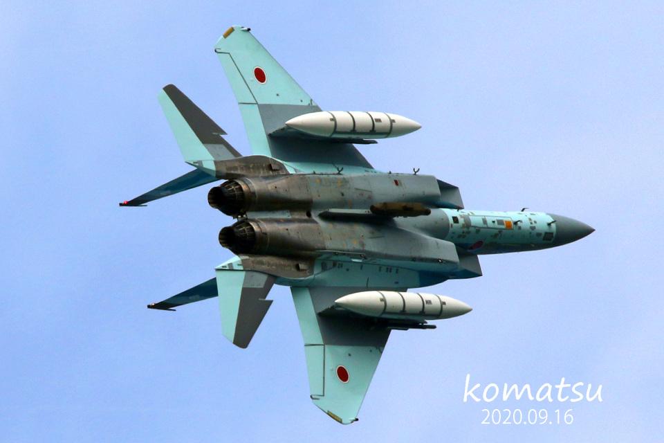 わかすぎさんの航空自衛隊 Mitsubishi F-15DJ Eagle (32-8082) 航空フォト