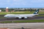 HLeeさんが、台湾桃園国際空港で撮影したキャセイパシフィック航空 747-867F/SCDの航空フォト(飛行機 写真・画像)