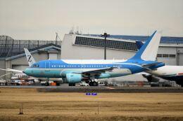 キットカットさんが、成田国際空港で撮影した中国企業所有 A318-112 CJ Eliteの航空フォト(飛行機 写真・画像)