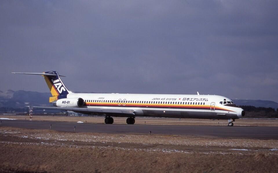 kumagorouさんの日本エアシステム McDonnell Douglas MD-80 (DC-9-80) (JA8554) 航空フォト