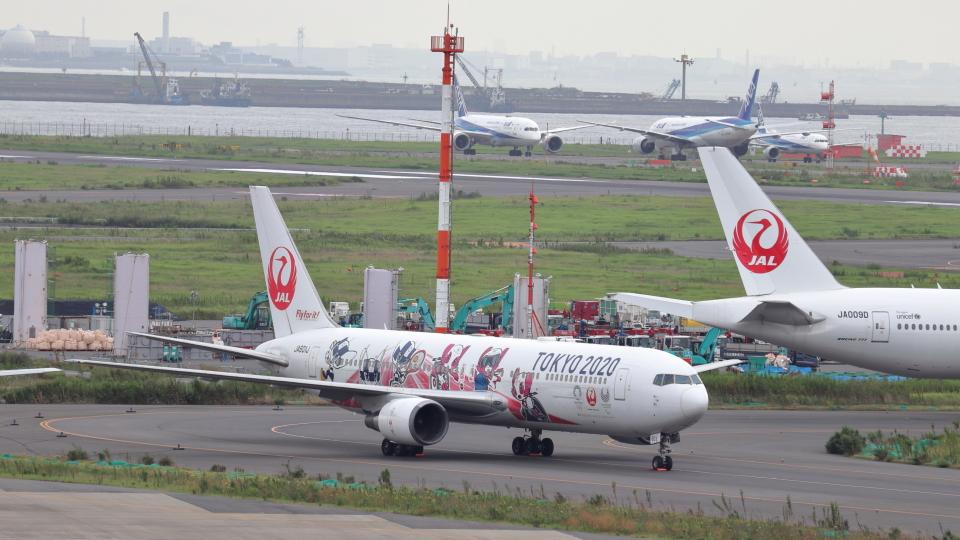 誘喜さんの日本航空 Boeing 767-300 (JA601J) 航空フォト