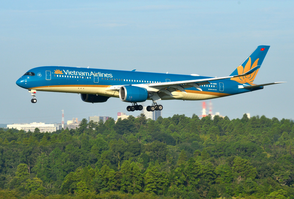 mojioさんのベトナム航空 Airbus A350-900 (VN-A890) 航空フォト