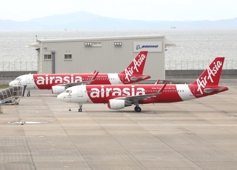 voyagerさんのエアアジア・ジャパン Airbus A320 (JA02DJ) 航空フォト