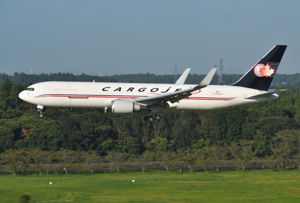 mojioさんのカーゴジェット・エアウェイズ Boeing 767-300 (C-GAJG) 航空フォト