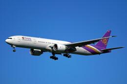 ちゃぽんさんが、成田国際空港で撮影したタイ国際航空 777-3AL/ERの航空フォト(飛行機 写真・画像)