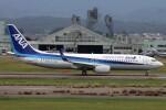 もにーさんが、小松空港で撮影した全日空 737-8ALの航空フォト(飛行機 写真・画像)