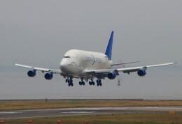 TAOTAOさんが、中部国際空港で撮影したボーイング 747-409(LCF) Dreamlifterの航空フォト(飛行機 写真・画像)