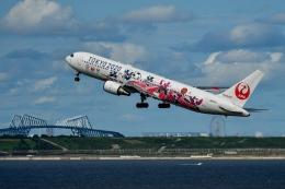 sshzeさんが、羽田空港で撮影した日本航空 767-346/ERの航空フォト(飛行機 写真・画像)