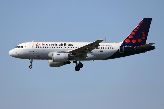 2019年08月24日に撮影されたブリュッセル航空の航空機写真