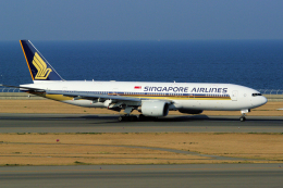 yabyanさんが、中部国際空港で撮影したシンガポール航空 777-212/ERの航空フォト(飛行機 写真・画像)