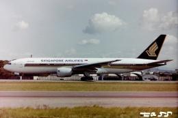 tassさんが、名古屋飛行場で撮影したシンガポール航空 777-212/ERの航空フォト(飛行機 写真・画像)