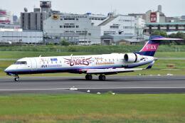 @たかひろさんが、伊丹空港で撮影したアイベックスエアラインズ CL-600-2C10 Regional Jet CRJ-702の航空フォト(飛行機 写真・画像)