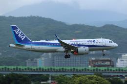 HLeeさんが、台北松山空港で撮影した全日空 A320-271Nの航空フォト(飛行機 写真・画像)