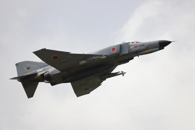 赤ちんさんが、茨城空港で撮影した航空自衛隊 F-4EJ Kai Phantom IIの航空フォト(飛行機 写真・画像)