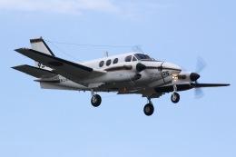 しゃこ隊さんが、厚木飛行場で撮影した海上自衛隊 LC-90 King Air (C90)の航空フォト(飛行機 写真・画像)