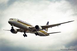 aocean_dome17さんが、福岡空港で撮影したシンガポール航空 787-10の航空フォト(飛行機 写真・画像)