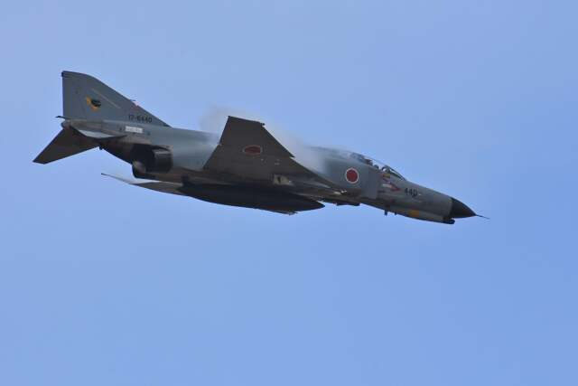 YouKeyさんが、茨城空港で撮影した航空自衛隊 F-4EJ Kai Phantom IIの航空フォト(飛行機 写真・画像)