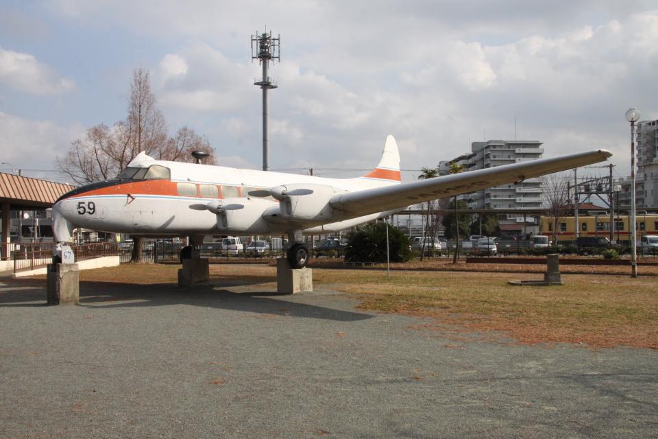 kahluamilkさんの日本国内航空 De Havilland DH.114 Heron (JA6159) 航空フォト