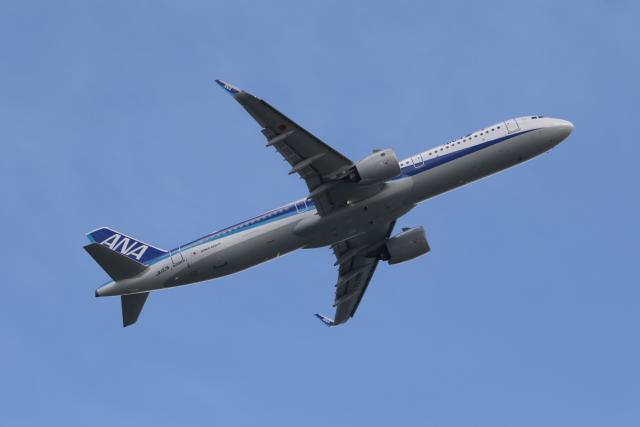 サリーちゃんのパパさんが、羽田空港で撮影した全日空 A321-272Nの航空フォト(飛行機 写真・画像)