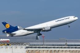 Ariesさんが、関西国際空港で撮影したルフトハンザ・カーゴ MD-11Fの航空フォト(飛行機 写真・画像)