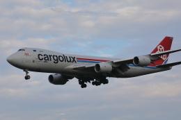 AkilaYさんが、成田国際空港で撮影したカーゴルクス 747-8R7F/SCDの航空フォト(飛行機 写真・画像)