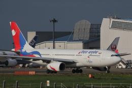 AkilaYさんが、成田国際空港で撮影したネパール航空 A330-243の航空フォト(飛行機 写真・画像)