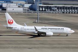 わんだーさんが、中部国際空港で撮影した日本トランスオーシャン航空 737-8Q3の航空フォト(飛行機 写真・画像)
