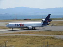 LOVE767さんが、関西国際空港で撮影したフェデックス・エクスプレス MD-11Fの航空フォト(飛行機 写真・画像)