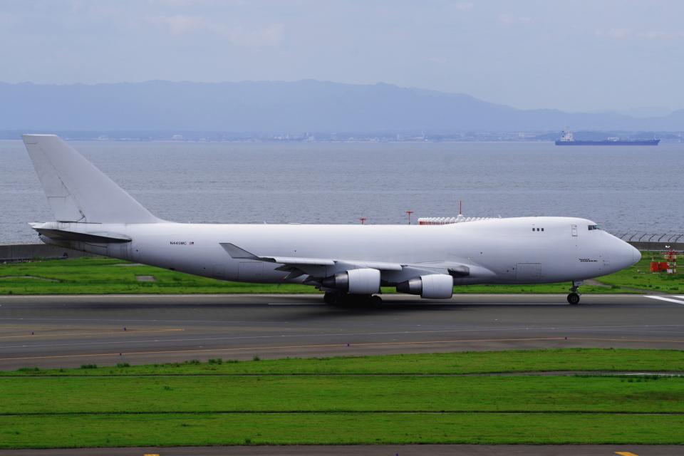 yabyanさんのアトラス航空 Boeing 747-400 (N445MC) 航空フォト