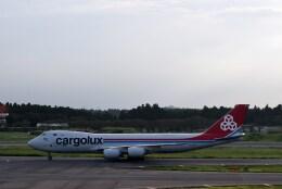 よんすけさんが、成田国際空港で撮影したカーゴルクス 747-8R7F/SCDの航空フォト(飛行機 写真・画像)