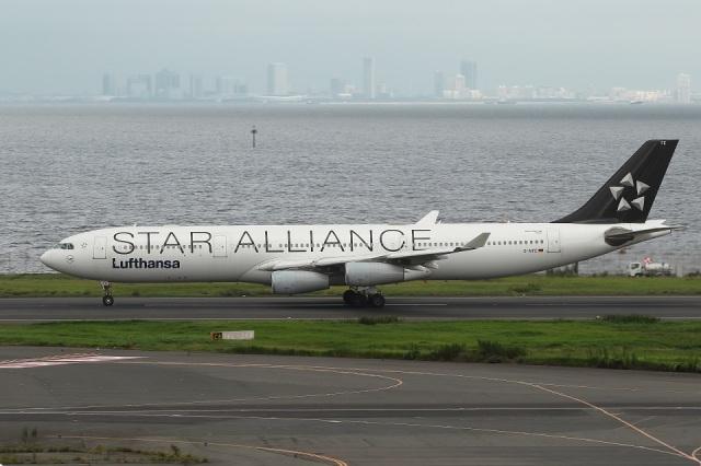 肉食獣さんが、羽田空港で撮影したルフトハンザドイツ航空 A340-313Xの航空フォト(飛行機 写真・画像)