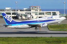 いおりさんが、新石垣空港で撮影したANAウイングス 737-54Kの航空フォト(飛行機 写真・画像)