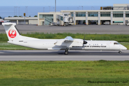 いおりさんが、石垣空港で撮影した琉球エアーコミューター DHC-8-402Q Dash 8 Combiの航空フォト(飛行機 写真・画像)