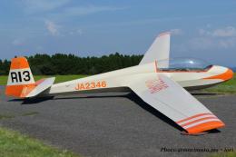 いおりさんが、久住滑空場で撮影した九州グライダースポーツ連盟 ASK 13の航空フォト(飛行機 写真・画像)